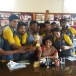 MGI takes the Runner Trophy at Nodal Kabaddi